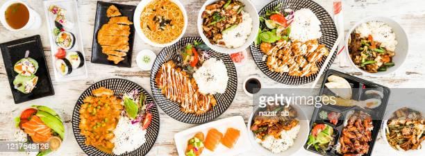 comida japonesa. - washoku fotografías e imágenes de stock