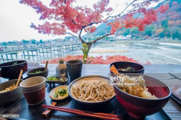 japanese food - 蕎麦 ストックフォトと画像