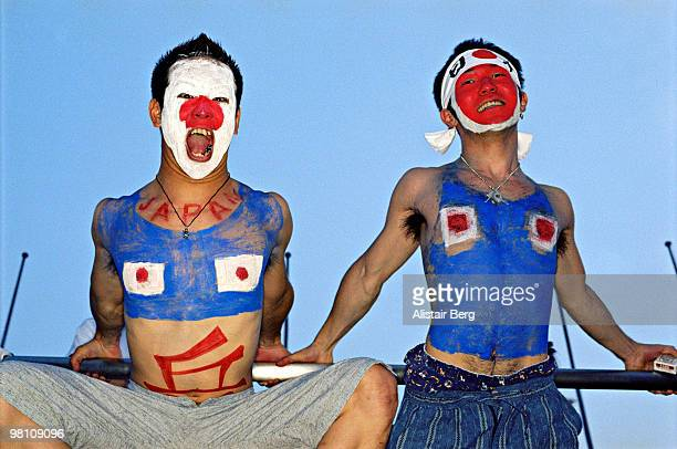 Japanese football supporters