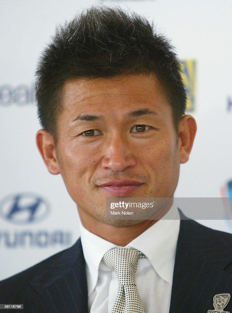 Kazuyoshi Miura Sydney FC Press Conference