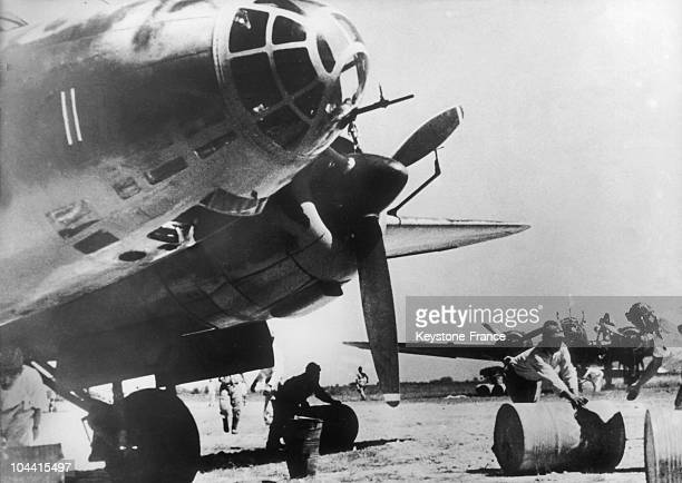 Japanese forces set up in China since 1941 check out a plane before its takeoff in 1944 During the SinoJapanese war from 1937 to 1945 Japan occupied...