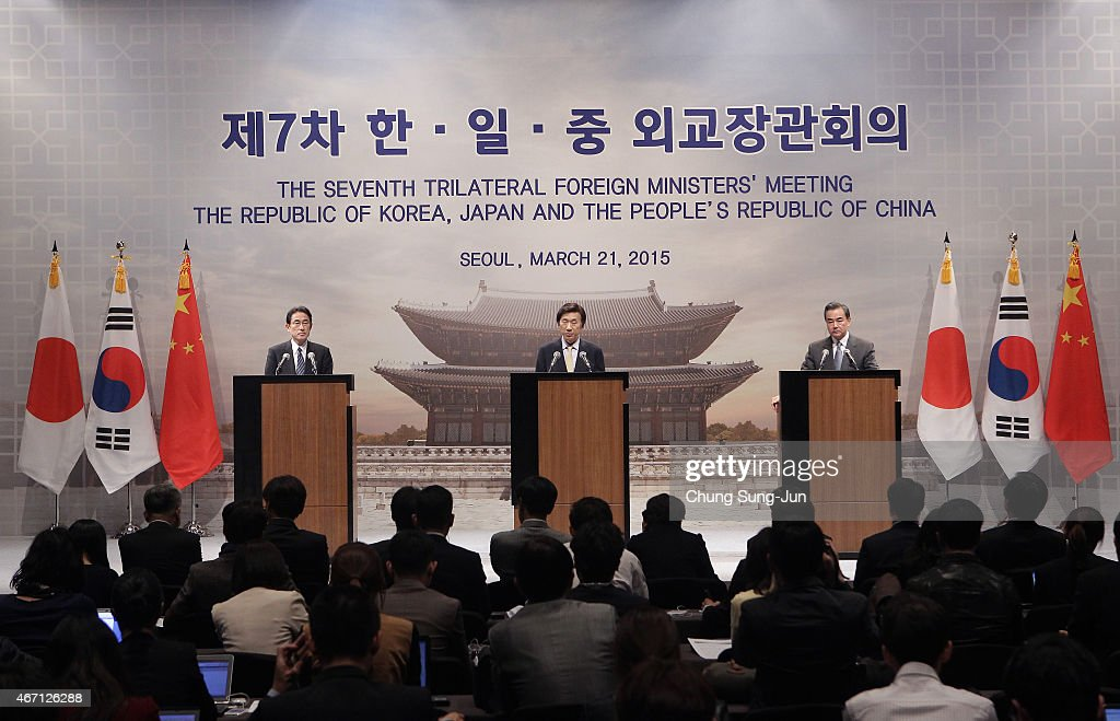 The 7th KOREA-JAPAN-CHINA Foreign Ministers' Meeting : News Photo