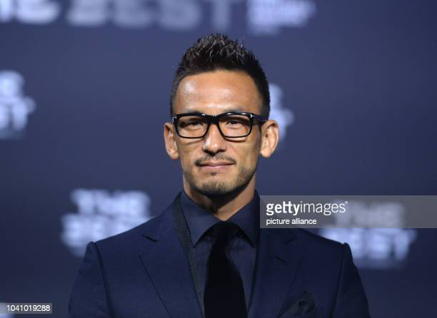 Japanese former player Hidetoshi Nakata arrives at the FIFA World Players of the Year 2016 gala in Zurich Switzerland 9 January 2017 Photo Patrick...