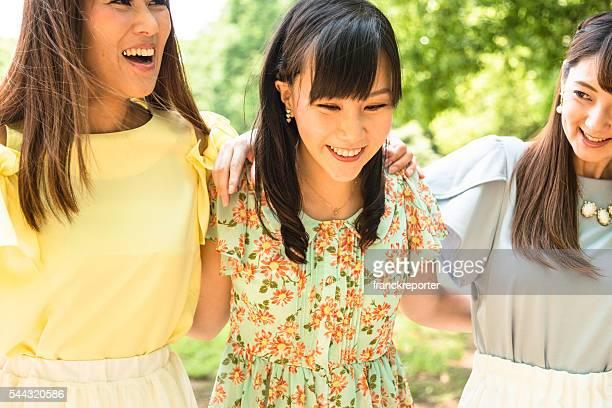 日本のご友人との散歩トゥギャザネス
