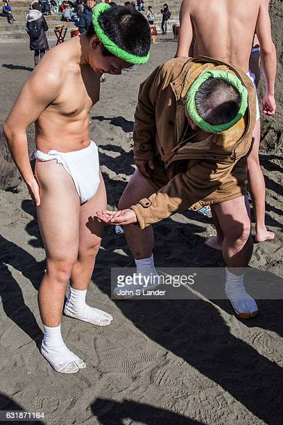 Japanese fundoshi loincloths were once almost universally used as underwear by Japanese men Before increased westernization fundoshi were common...