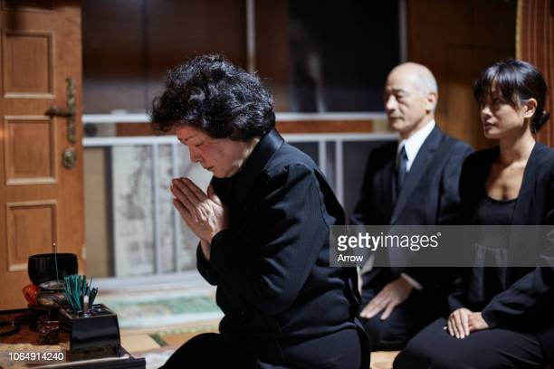 japanese funeral ceremony - urn stock pictures, royalty-free photos & images