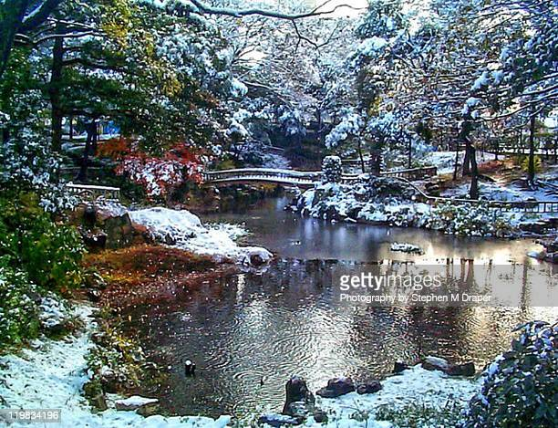 japanese garden - 日本庭園 ストックフォトと画像