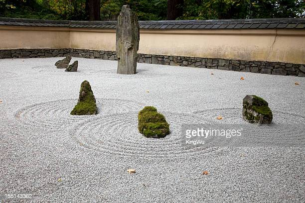 2 248 Japanese Rock Garden Photos And Premium High Res Pictures Getty Images
