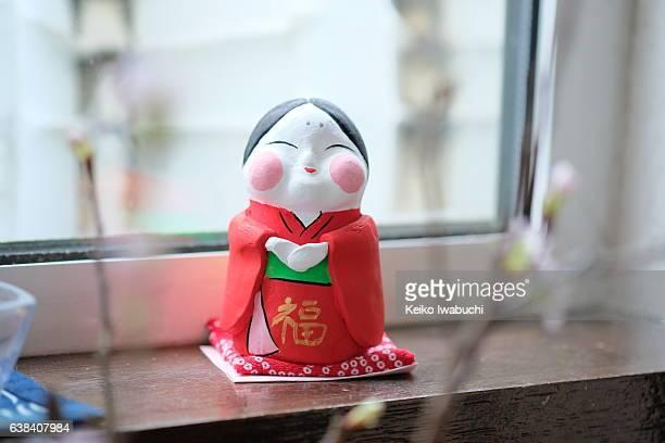 Japanese good luck charm called ''Ofukusan''