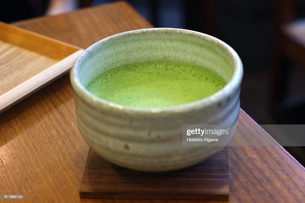 Japanese Green Tea (Matcha) : ストックフォト