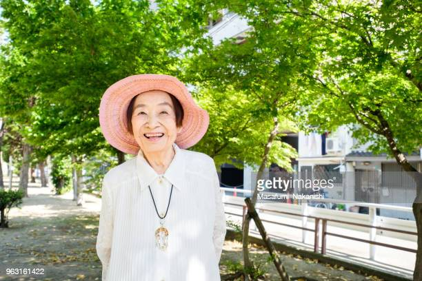 japanese happy senior portrait - istock images stock pictures, royalty-free photos & images