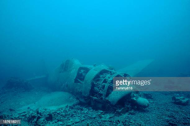 Japanese Hellcat Wreck, Solomon Islands
