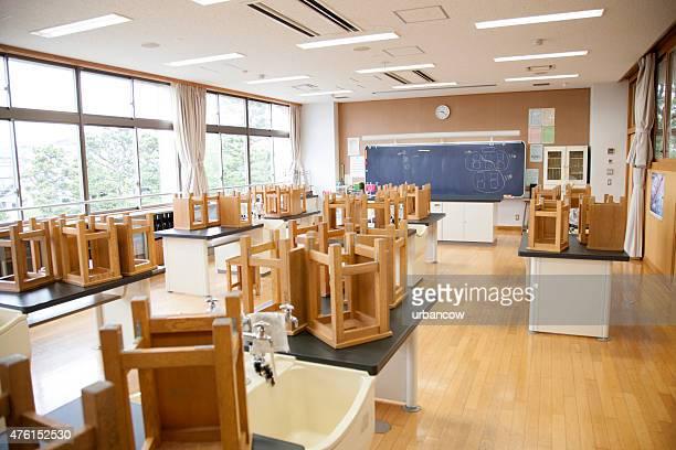 日本の高校ます。 空の科学研究所、スツールベンチに
