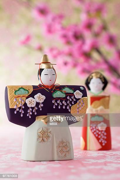 Japanese hinamatsuri doll