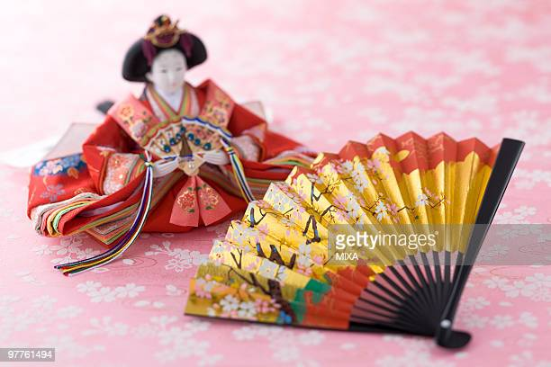 japanese hinamatsuri doll - hinamatsuri stock pictures, royalty-free photos & images