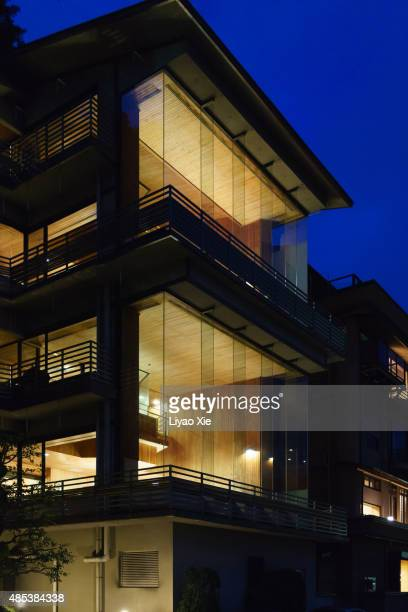 japanese hotel - liyao xie stock pictures, royalty-free photos & images