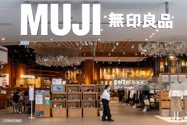 Japanese household and clothing retail company Muji store seen in Hong Kong