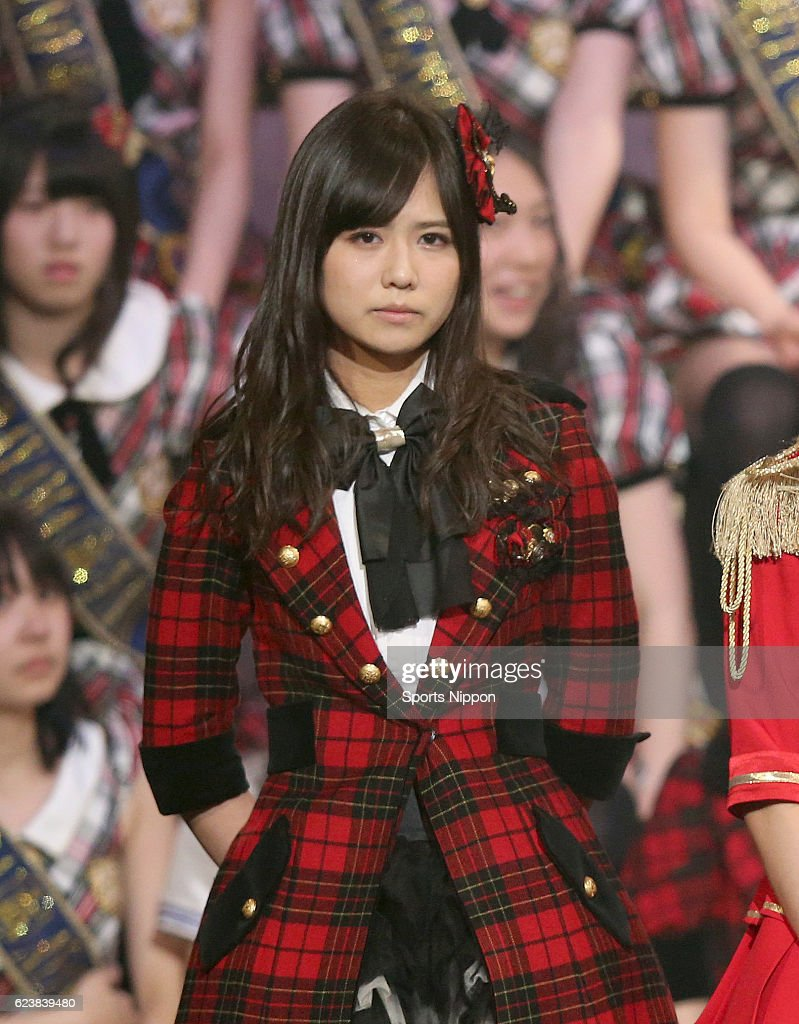 Japanese idol Sumire Sato of AKB48 attends the AKB48 Group