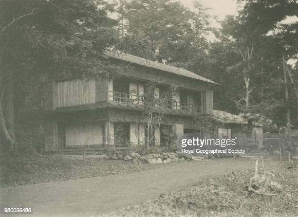 A Japanese Inn Plate XX from 'Views in the Far East' by Isabella L Bishop Collotyped by S Kajima Japan 1897 Photo by Isabella Lucy Bishop /Royal...