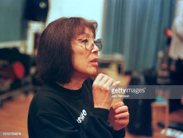 Japanese jazz musician Toshiko Akiyoshi at The Radiohouse with The Danish Radio Big Band Copenhagen 2001