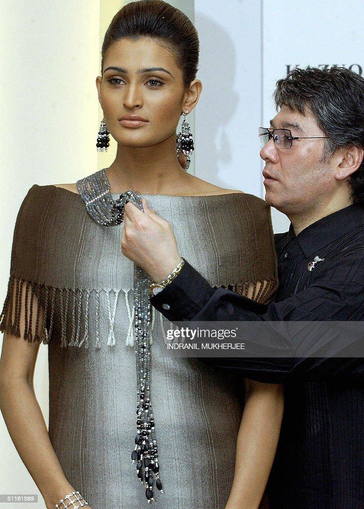 Japanese jewellery designer Kazuo Ogawa : News Photo