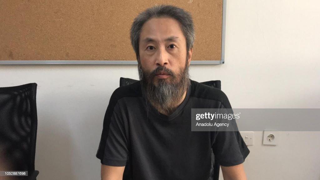 Japanese journalist Jumpei Yasuda held hostage in Syria 'freed' : News Photo