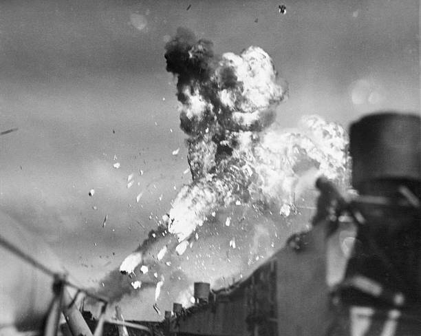 UNS: 21st October 1944 - The First Ever Kamikaze Attack