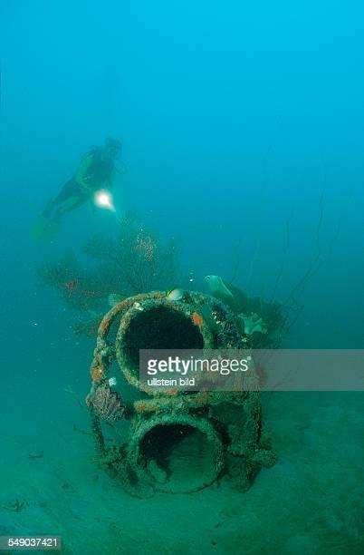 Japanese Kamikaze Submarine, Papua New Guinea, Neu-Irland, Kavieng