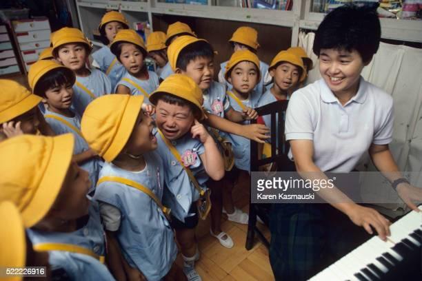 Japanese Kindergarden Class