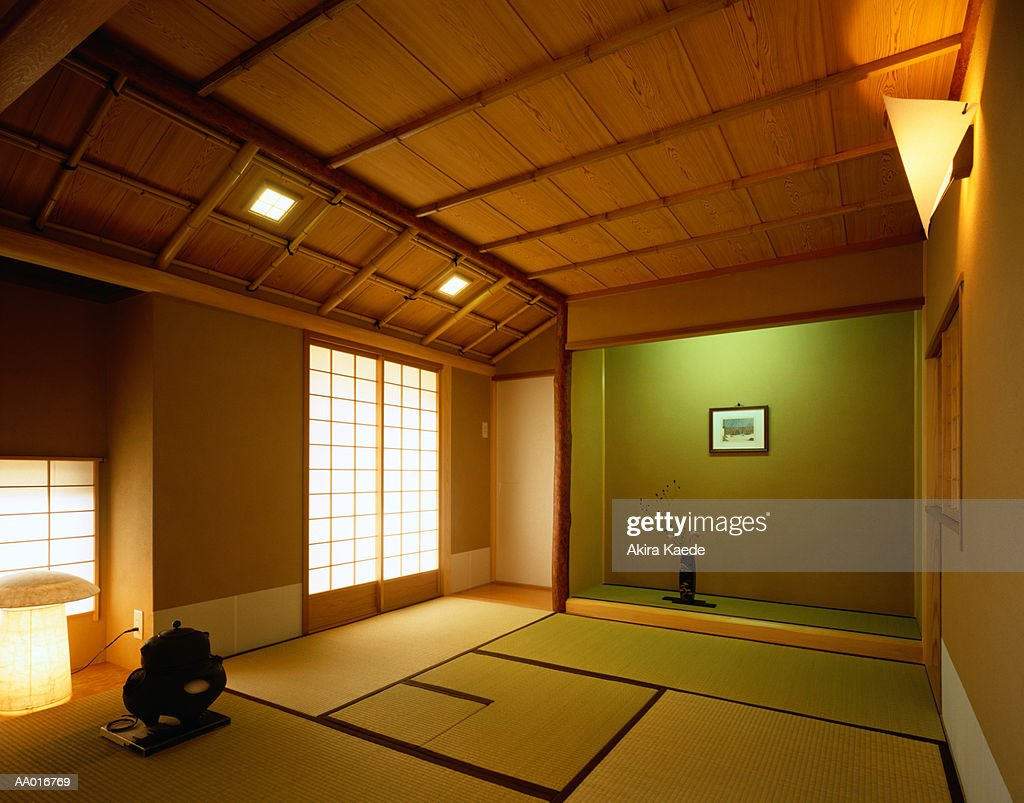 Japanese Living Room Stock-Foto - Getty Images