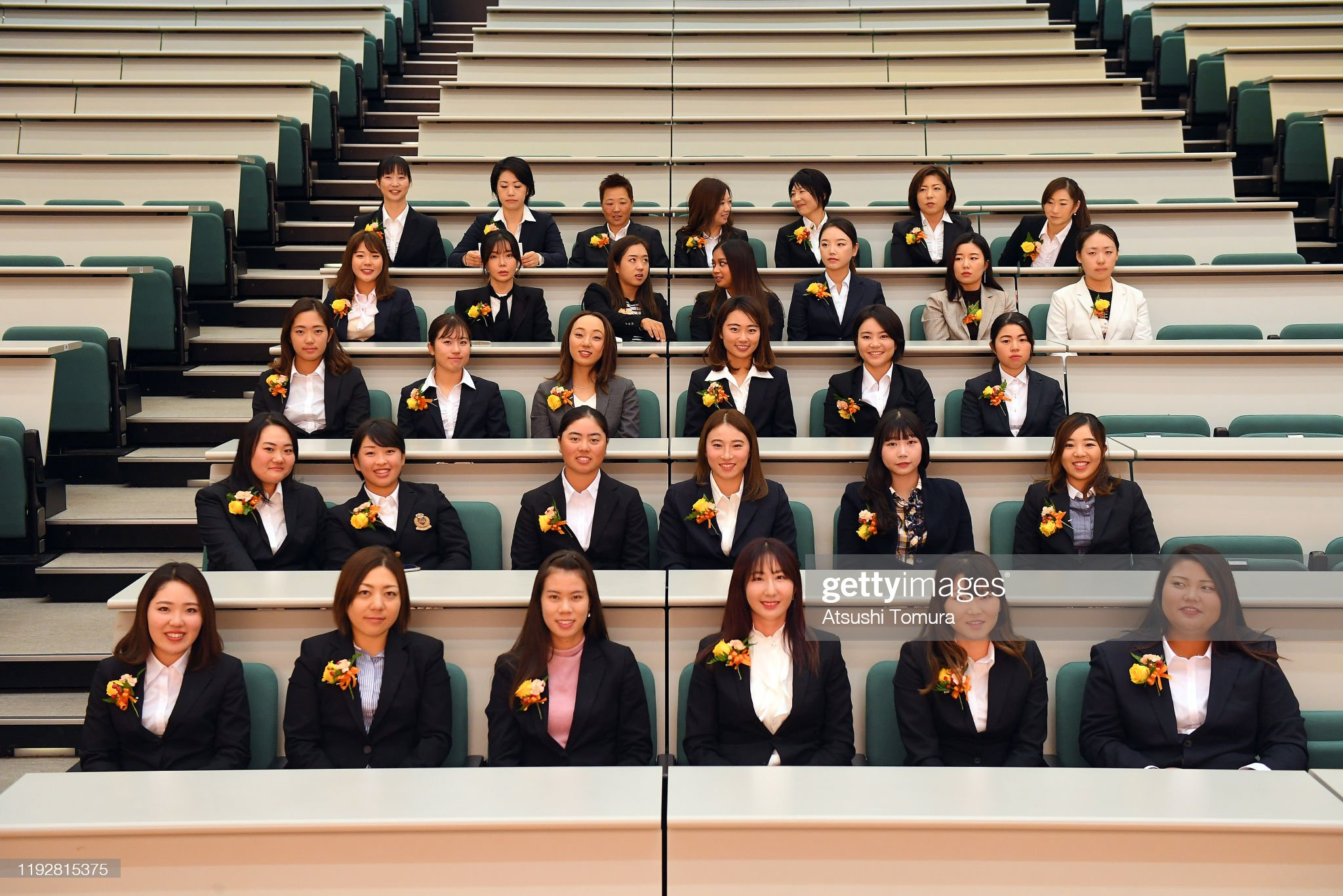 https://media.gettyimages.com/photos/japanese-lpga-2019-new-members-attend-the-welcome-ceremony-at-xwave-picture-id1192815375?s=2048x2048