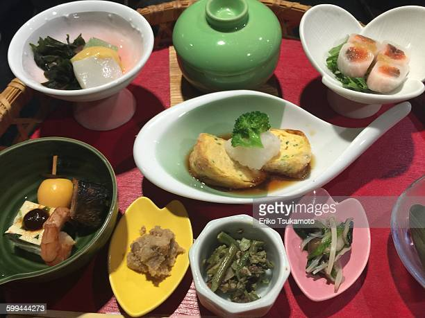 Japanese lunch presentation