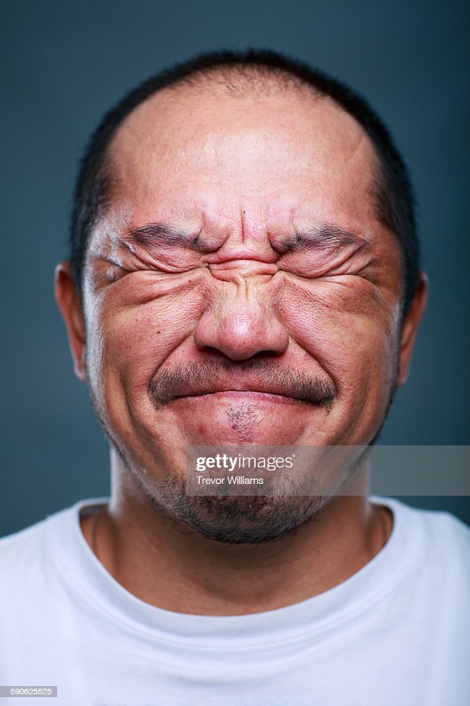 A Japanese man in his 50's : Stock Photo