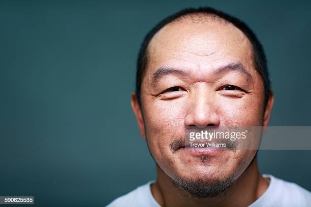 A Japanese man in his 50's