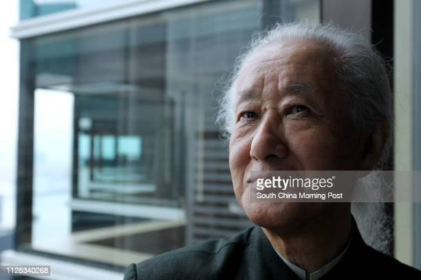 Japanese master architect Arata Isozaki from Arata Isozaki Associates who codesigns the revitalisation project of Central Market speaks during a...