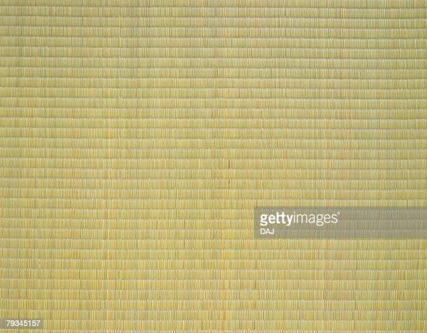 Japanese mat made from thick straw