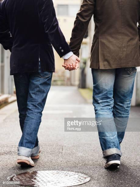 japanese men gay couple - só homens jovens imagens e fotografias de stock