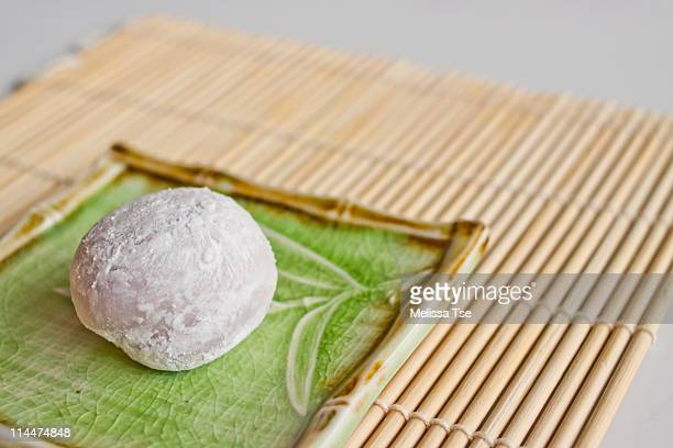 japanese mochi ice cream - mochi stock photos and pictures