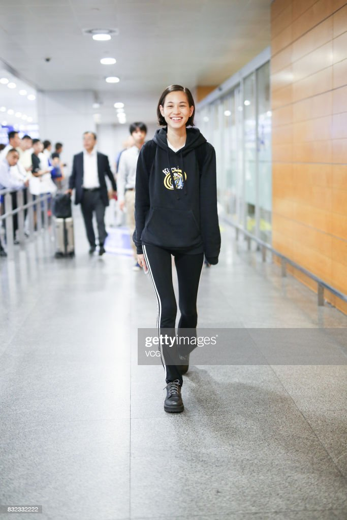 Kiko Mizuhara Sightings In Shanghai
