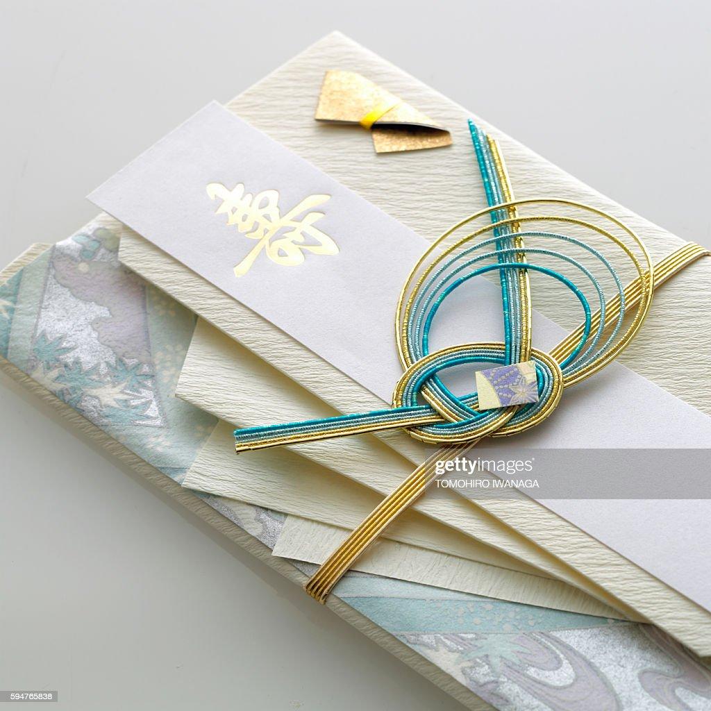 Japanese Money Envelope Stock Photo   Getty Images