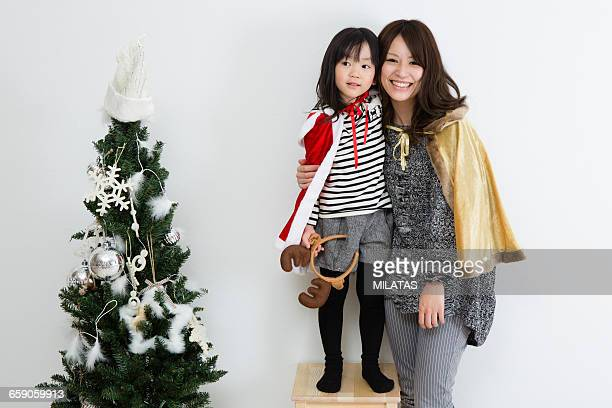 Japanese mother and daughter to spend Christmas