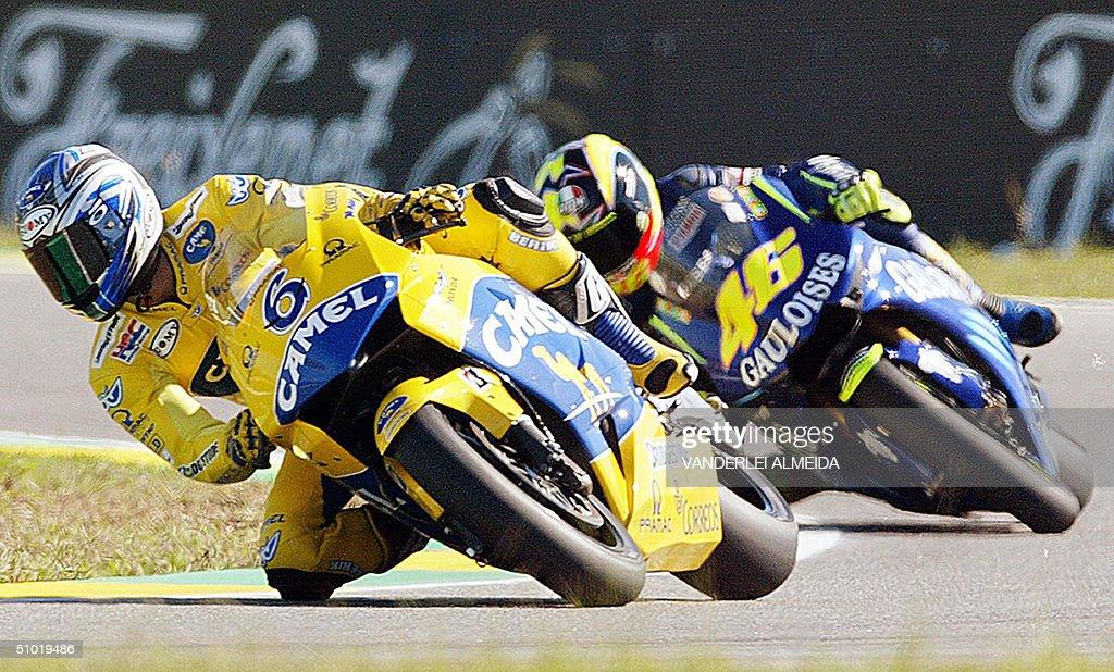 Japanese Moto GP rider Makoto Tamada (6) : News Photo