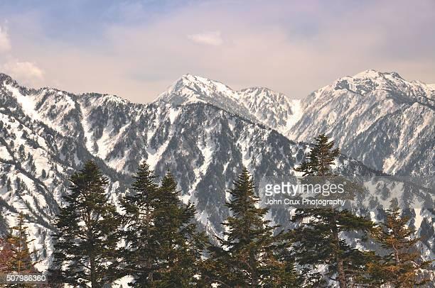 Japanese mountain scenery