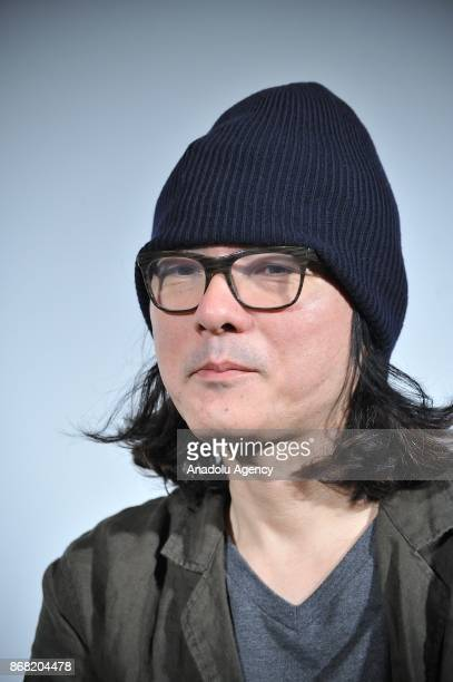 Japanese movie director Shunji Iwai along with Japanese actress Yu Aoi and Japanese actress Anne Suzuki attend the 30th Tokyo International Film...