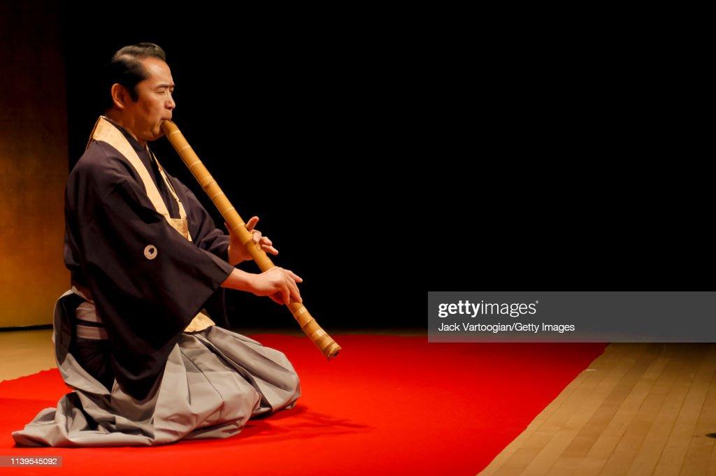 Kifu Mitsuhashi At The Japan Society : News Photo