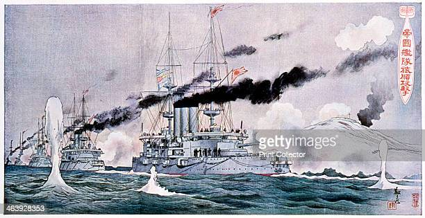 Japanese naval squadron steaming to bombard Port Arthur RussoJapanese War 19041905 The RussoJapanese War arose due to the two countries' conflicting...
