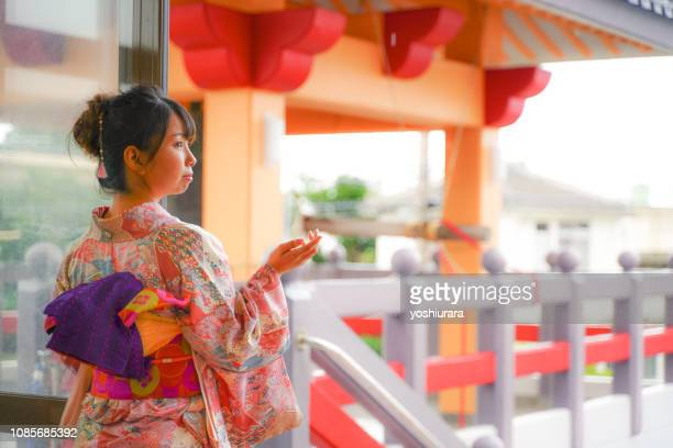 japanese new year landscape - new year's day stock pictures, royalty-free photos & images
