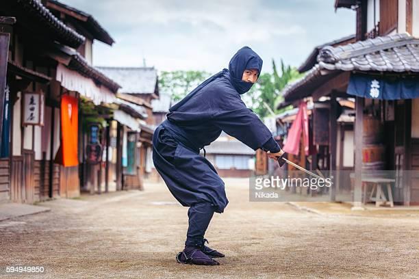 Japanese Ninja in Toei Studios, Kyoto