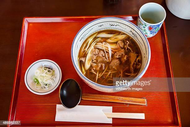 japanese noodle soup - 茨城県 ストックフォトと画像