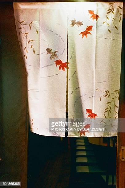japanese noren - のれん ストックフォトと画像
